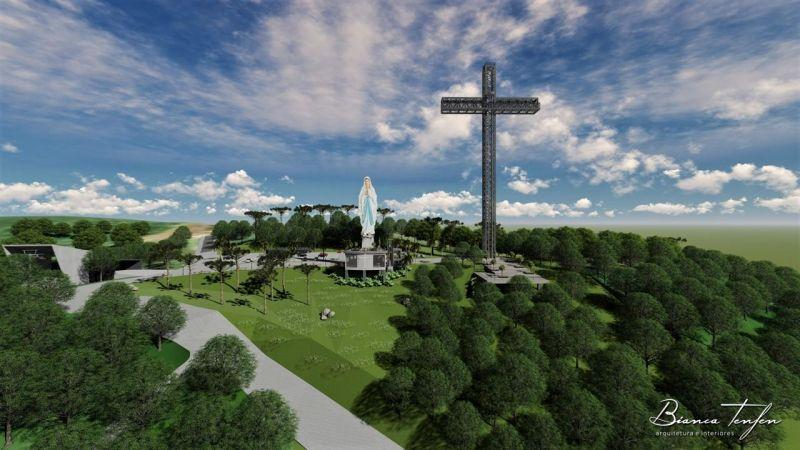 Diretor da PROAÇO investe no turismo religioso do município de Ituporanga.