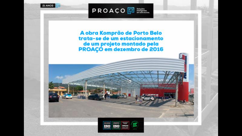 Obra Komprão de Porto Belo