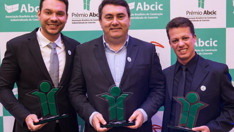 PROAÇO ganha Prêmio ABCIC Obra do Ano, categoria infraestrutura.