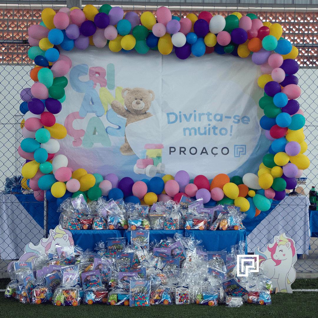 Proaço promove tarde especial para os filhos dos colaboradores no dia das crianças!