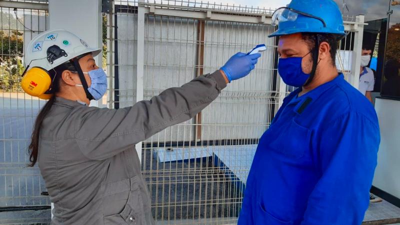 PROAÇO realiza ações para prevenção e segurança dos colaboradores contra o coronavírus.