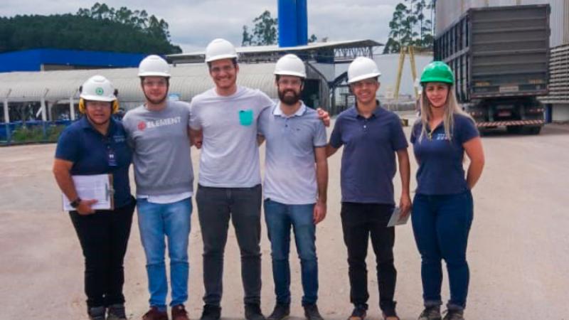 PROAÇO recebeu visita de acadêmicos do curso de Engenharia Civil da FURB.