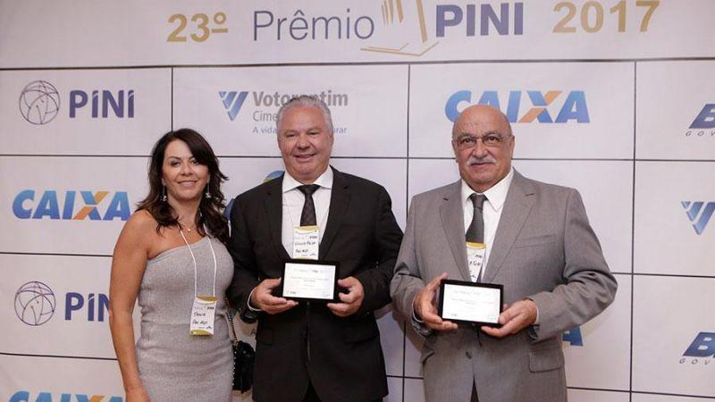 Vencedora da 23ª edição do Prêmio PINI 2017!